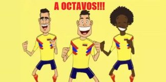 Memes Senegal-Colombia mundial rusia