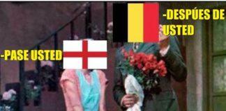 Memes Bélgica-Inglaterra mundial rusia