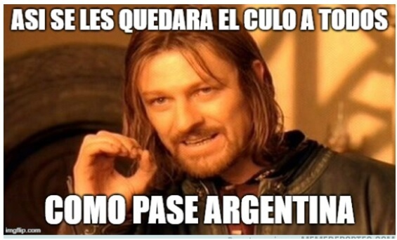 Memes Nigeria-Argentina Mundial Rusia 2018