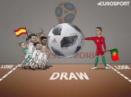 Memes Portugal-España Mundial Rusia 2018