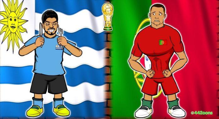 Memes Uruguay-Portugal Mundial