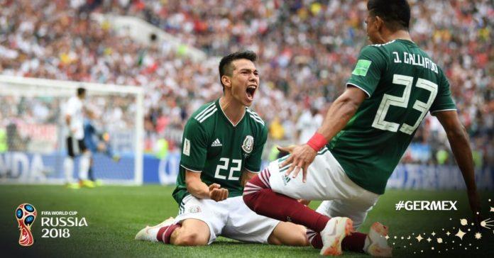 Alemania 0-1 México Mundial Rusia