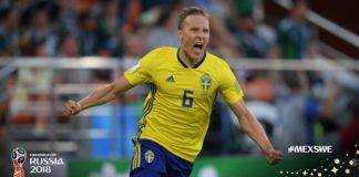 México 0-3 Suecia Mundial Rusia