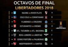 Octavos Copa Libertadores 2018