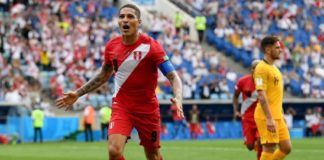 Australia 0-2 Perú Mundial Rusia