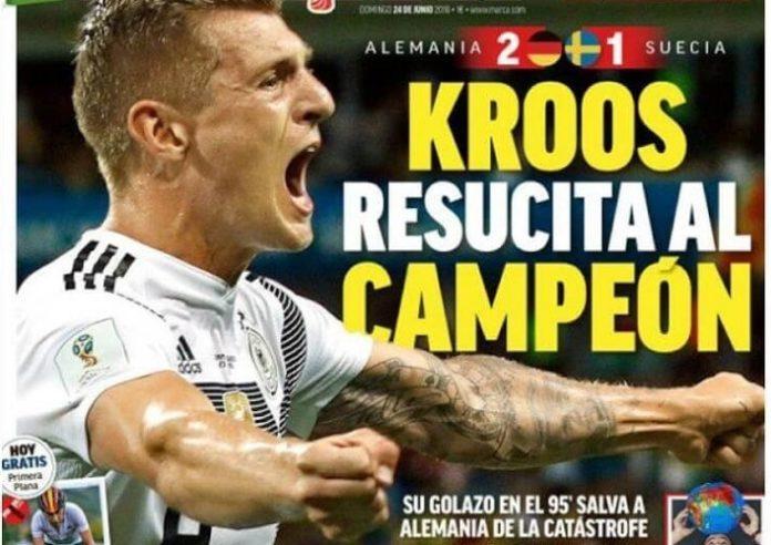 Kroos obra el Milagro para Alemania