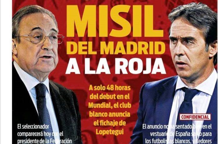 Lopetegui ficha por el Madrid
