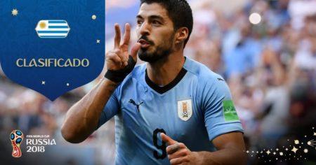 Uruguay clasifica a Octavos con gol de Suárez   Grupo A. FIFA World Cup