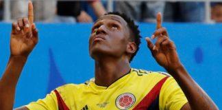 Senegal 0-1 Colombia Mundial Rusia yerry mina