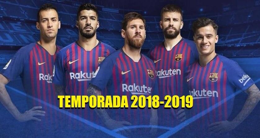 Calendario Del Barcelona.Calendario Fc Barcelona 2018 2019 Fixture De Liga Completo