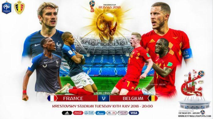 Alineaciones Francia-Bélgica mundial rusia
