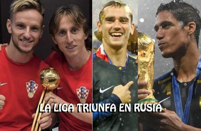 La Liga Española también Triunfa en el Mundial de Rusia