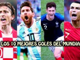 Los 10 mejores goles del Mundial de Rusia 2018