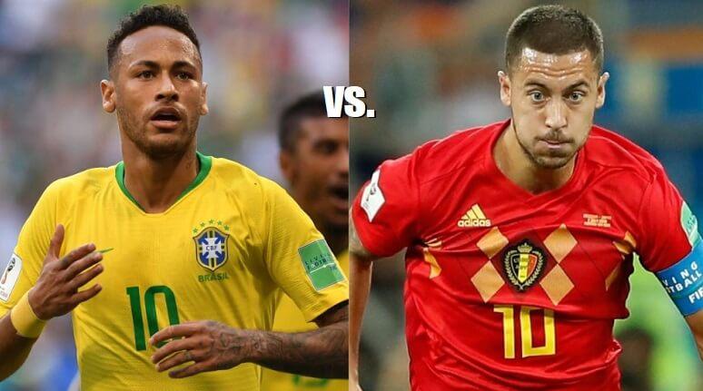 Brasil-Bélgica Mundial Rusia 2018