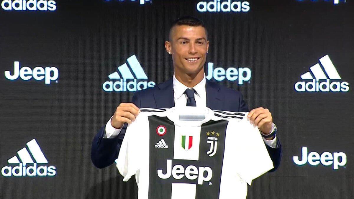 Presentación de Cristiano Ronaldo en la Juventus
