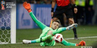Croacia a cuartos por penales. Espectaculares Subasic y Schmeichel