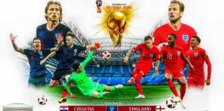 Alineaciones Croacia-Inglaterra mundial rusia