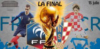 Alineaciones Francia-Croacia final mundial
