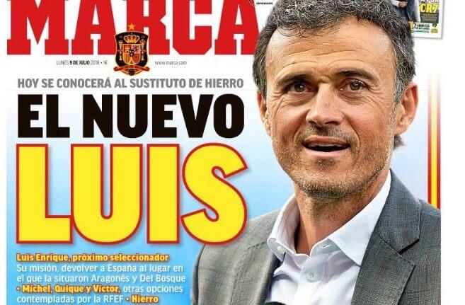 Luis Enrique nuevo DT de España