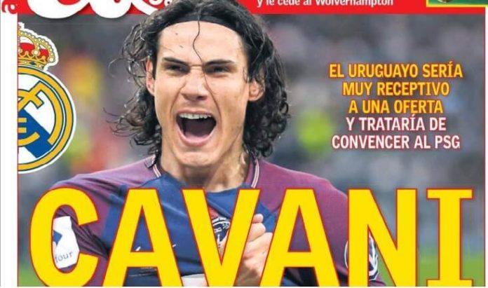 Cavani suena para el Madrid