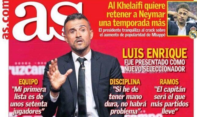 Luis Enrique presentado como DT