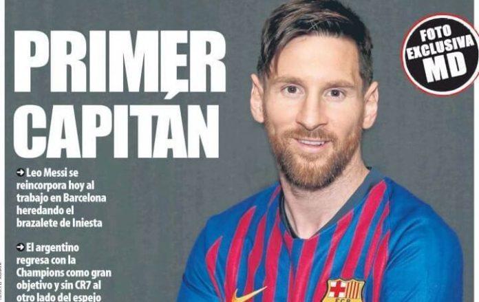 Messi Primer Capitán