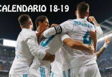 Calendario Real Madrid 2018-2019