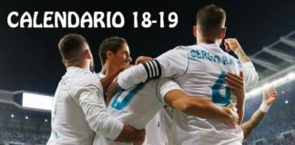 Calendario Real Madrid 2018-2019