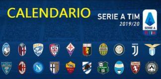 Calendario Serie A TIM 2019-2020