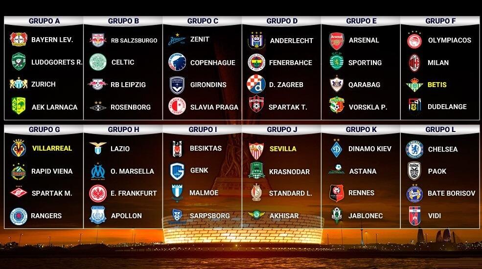 8 finale europa league 2019