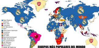 equipos de fútbol mas Populares del Mundo