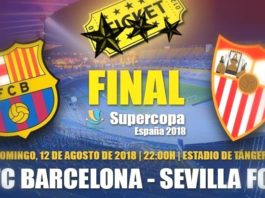 Barcelona-Sevilla Supercopa 2018