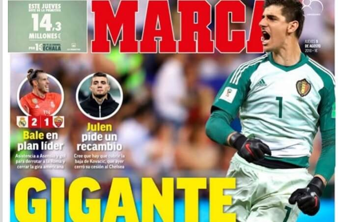 Courtois ficha por el Madrid