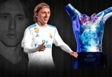 Luka Modric UEFA Best Player 2018