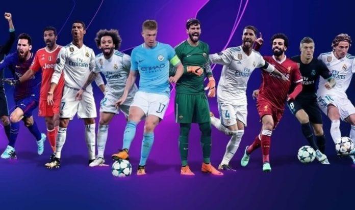Nominados Mejores Jugadores Champions 2018