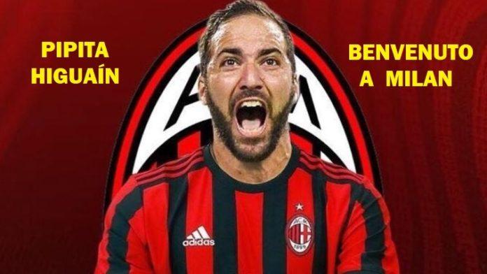 Gonzalo Higuaín ficha por el Milán