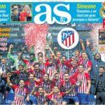 Atlético Supercampeón de Europa