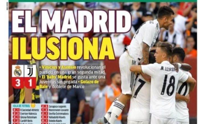 El Madrid se ilusiona con Vinicius