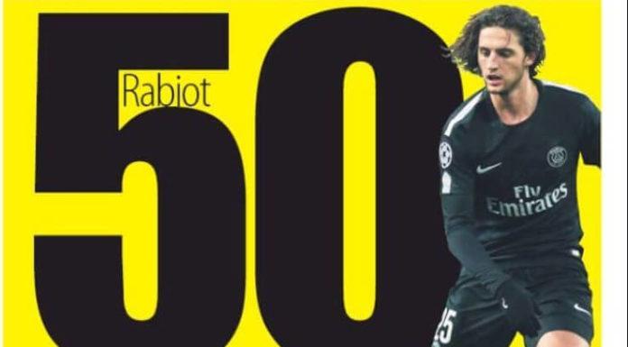 50 millones por Rabiot
