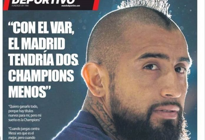 vidal quiere la champions