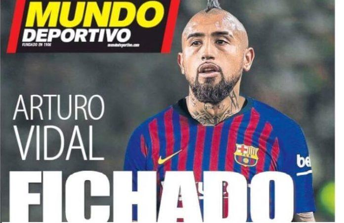 El Barça ficha a Arturo Vidal