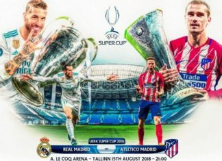 Real Madrid-Atlético Supercopa de Europa 2018