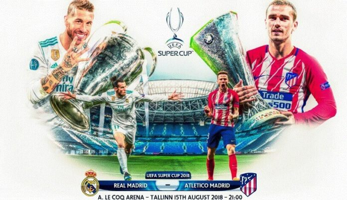 Real Madrid-Atlético Supercopa de Europa 2018