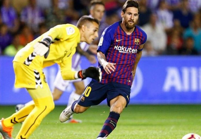 Valladolid 0-1 Barcelona Jornada 20