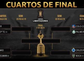 Cuartos Copa Libertadores 2018