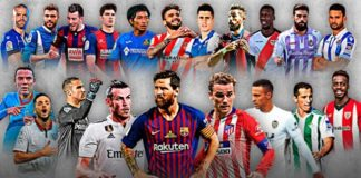 Alineaciones Jornada 5 Liga Santander 2018