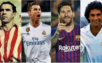 Máximos Goleadores Históricos de la Liga Española