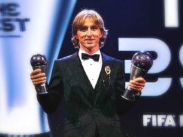 Luka Modric FIFA The Best 2018