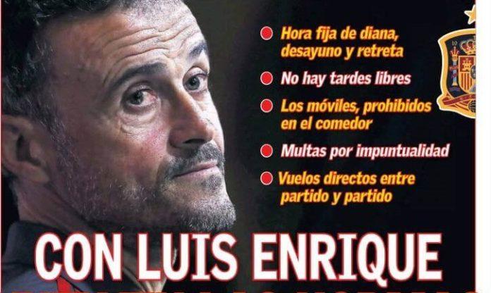 Luis Enrique impone mano de hierro