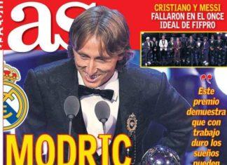 El mejor del Mundo es Modric